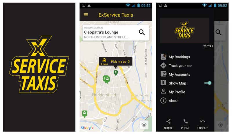 X Service Taxi app on Google Play